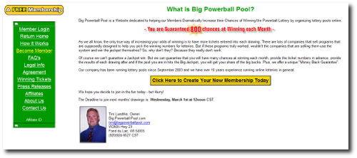 Big Powerball Pool