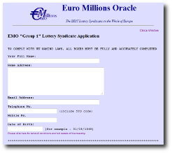 join euro millions oracle