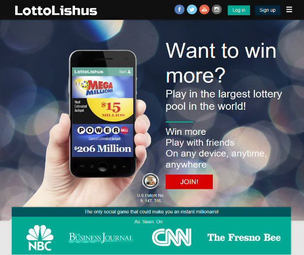LottoLishus main website