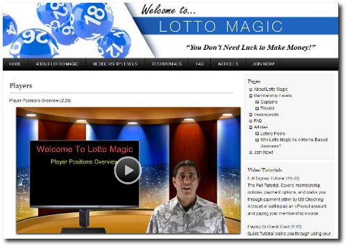 Lotto Magic Florida Lottery Clubs